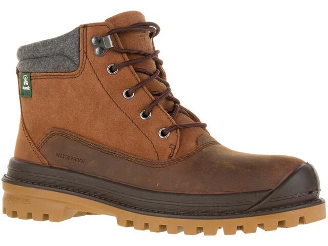 Kamik Griffonmid Shoes Herren cognac